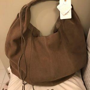 NWT Hobo Eclipse Sage Genuine Leather Velvet Hide